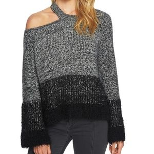 1. State Cold Shoulder Sweater Medium NWT